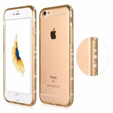 For iPhone 7 Plus 6 6S PLUS Luxury Ultra Thin Crystal Diamond Bling Gel Case