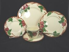 Vintage Franciscan Apple 5 PIECE PLACE SETTING USA California MINT Free Shipping