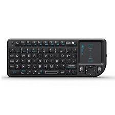 NEW Rii Mini Wireless Keyboard with Mouse Touchpad Black mini X1 FREE SHIPPING