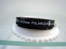 Tiffen 40.5mm Linear Polarizer Round Filter SR Pol Pola Rotating Filters