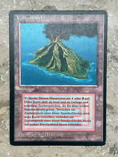 Volcanic Island / Vulkaninsel FBB German Limited Excellent - MTG Magic