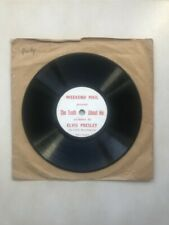 78 tours - Elvis Presley - Weekend mail - The Truth About me RARE