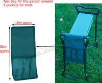 PORTABLE FOLDING GARDEN KNEELER FOR GARDENING KNEE PAD FOAM PADDED SEAT STOOL