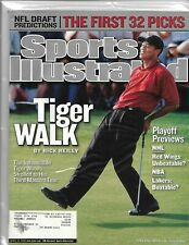 "SPORTS ILLUSTRATED APRIL 22, 2002  TIGER WOODS ""TIGER WALK"" BY RICK REILLY"