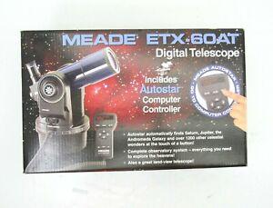 PARTS REPAIR Meade ETX-60AT REFRACTOR TELESCOPE Autostar Eyepieces