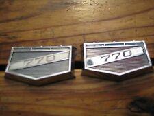 Chrysler Valiant Charger 770  2 x Badge