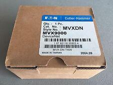 Eaton Cutler-Hammer MVX9000 MVXDN DeviceNet Module