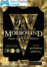 Elder Scrolls III 3 Morrowind Game of the Year GOTY PC [BRAND NEW GLOBAL STEAM]
