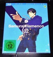 Samurai Flamenco Vol. 2 Episodi 7-11 blu ray Veloce Nuovo e Confezione Originale