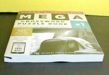 SIMON & SCHUSTER MEGA CROSSWORD 300 PUZZLES VOLUME 1  (Paperback)  ^ NEW ^