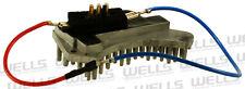 HVAC Blower Motor Resistor WVE BY NTK 4P1345