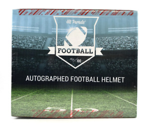GREEN BAY PACKERS Hit Parade NFL Full Size Signed Helmet 1 Break Autographed
