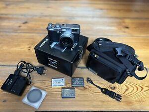 Fujifilm X100S Kamera Silber in top Zustand mit viele Extra