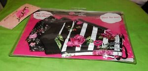 NIP BETSEY JOHNSON FACE MASKS PACKAGE OF 3 PINK MULTI