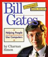 Bill Gates (Community Builders)-ExLibrary