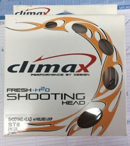 Climax Shooting Head ST 8 315 Grain 31.5 ft. Sinking Fly Line W/Welded Loops