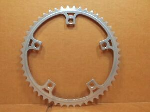 """New-Old-Stock SR Royal (3/32"""") Chainring w/Silver Finish (50T / 144 mm BCD)"""