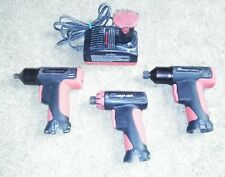 "Snap-on 3/8"" Cordless Impact Wrench & 2 1/4"" Hex Drivers w/ Batterie & Charger"