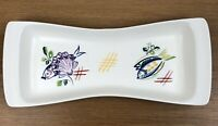 "Vintage Poole Pottery Fish Dish Tray 12"" x 5"""
