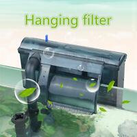 220v External Hang On Filter Surface Skimmer Aquarium Fish Tank Oil Film