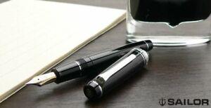 SAILOR Professional Gear Silver Fountain Pen 21K 1911 Japan EF F M MF B Z MS nib