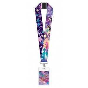 Disney Princess Deluxe Lanyard With Card Holder