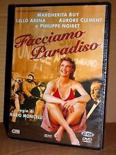 FACCIAMO PARADISO DVD Mario Monicelli Philippe Noiret Margherita Buy SIGILLATO!!
