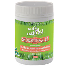 Vets All Natural Skin & Coat Support Powder with Probiotics for Cats & Dogs- 500