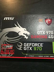 MSI Gaming 4G NVIDIA GTX 970 - Twin Frozr V