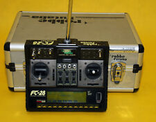 Robbe Futaba FC 28 Sender 35 MHz mit HF Steckmodul und Alu Koffer incl. Manual