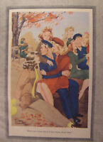 1944 Original Esquire Art WWII Era Large CARTOON Collection!