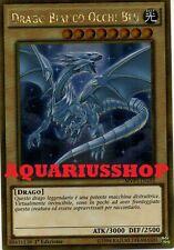 Yu-Gi-Oh Drago Bianco Occhi Blu MVP1-ITG55 Ultra GOLD ITA Blue-Eyes White Dragon