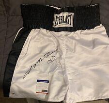 Sugar Ray Leonard Boxing Legend Autographed Boxing Shorts PSA COA Included