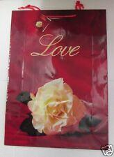 5 Geschenktaschen Geschenktüten Taschen Tüten Geschenk Geburtstag Blume Liebe