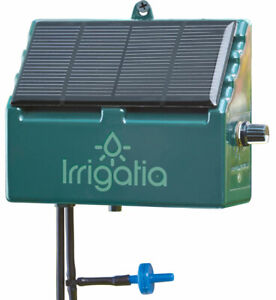 Irrigatia SOL C12 Solar Power Watering System Easy Greenhouse Garden Irrigation