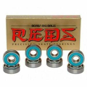 BONES Reds Big Balls Precision Skateboard Bearings SET OF 8