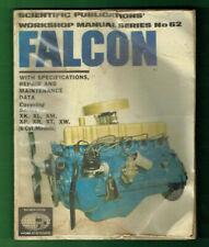 1973  CAR WORKSHOP MANUAL  #62 - FORD FALCON
