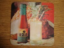 Beer mats coaster drip PINA COLADA GOLDWELL JAMAICAN RUM beer mat