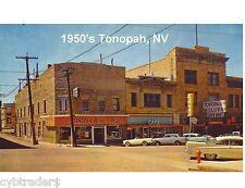 1950's Tonopah Nv View / Novelty Pc Magnet