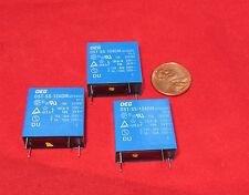 3 pcs OEG OST-SS-124DM 24VDC Coil Relay 4 Pin 10A 250VAC SPST  24V DC TV-5 TE AC