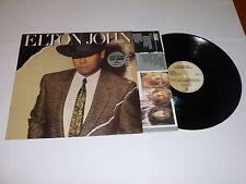 ELTON JOHN - Breaking Hearts - 1984 UK 10-track LP