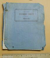 1941-1942 Guilford High School Greensboro North Carolina NC old Yearbook vintage