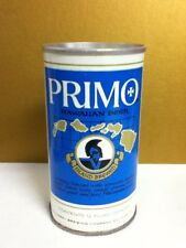 "Primo hawaiian metal pull top vintage beer can 1974 12 ounces 4.75"" Milwaukee K3"