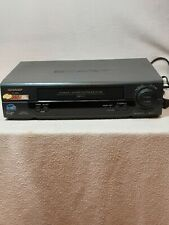 New listing Sharp Vc-A585U 4-Head Video Cassette Recorder Vhs Player