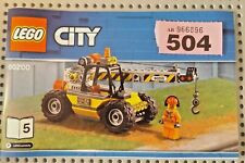 LEGO City - CONSTRUCTION CRANE - new  REF P504  60200