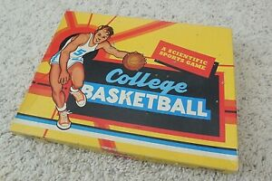 "Vintage 1950's Cadaco College Basketball Game ""A Scientific Sports Game"" NICE!"