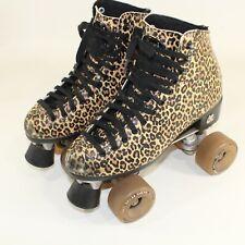 Moxi Roller Skates Jungle Leopard Print Tag Size 7 Womens