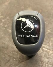 MERCEDES CLK W208 GREY LEATHER GEAR KNOB STICK ELEGANCE W202 W210 C E Class