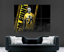 Cm punk wwe poster wrestling wrestler sport photo wall art giant énorme