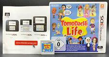 """NINTENDO 3DS SPIEL """" TOMODACHI LIFE """" Deutsche Verkaufsversion KOMPLETT"""